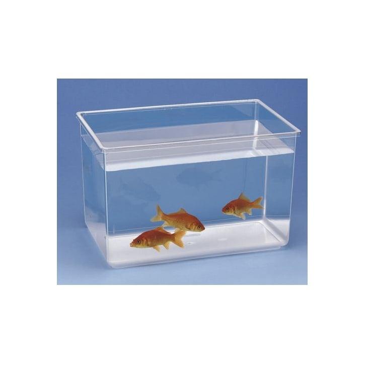 Ferplast nettuno plastic fish tank extra large feedem for Plastic fish tank
