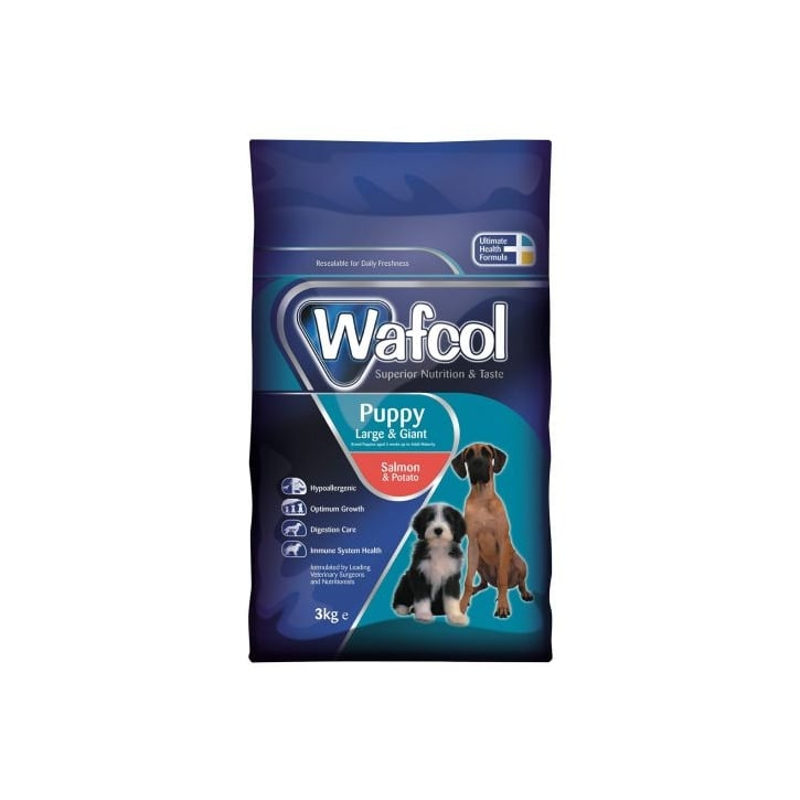 Wafcol Hypoallergenic Complete Puppy Dog Food Large/Giant Breed 3kg