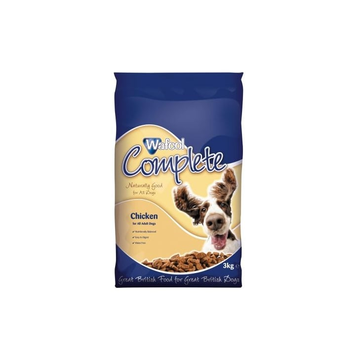 Wafcol Complete Adult Dog Food Maize Free Chicken 3kg