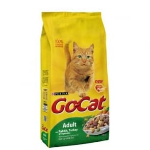 Purina Go Cat Complete Dry Cat Food Rabbit,Turkey & Veg 10kg