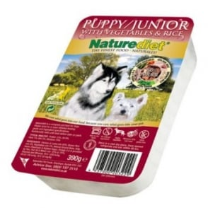 Naturediet Pet Foods Puppy Junior Chicken & Lamb With Brown Rice 390gm