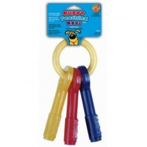 Nylabone Puppy Teething Keys - Large
