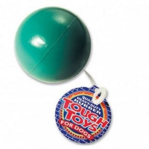 "Happy Pet Solid Rubber Ball Dog Play Toy 3.25""dia"