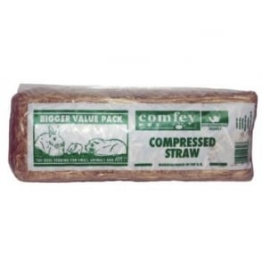 H Eggleston Jnr and Son Ltd Comfey Compressed Pet Straw - Standard