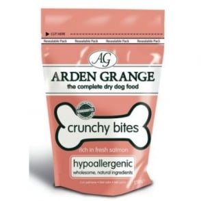 Arden Grange Crunchy Bites Salmon Dog Treats 250gm