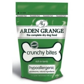 Arden Grange Crunchy Bites Lamb Dog Treats 250gm