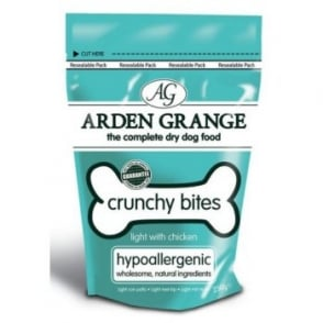 Arden Grange Crunchy Bites Light Chicken Dog Treats 250gm