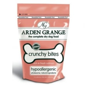 Arden Grange Crunchy Bites Salmon Dog Treats - 5kg