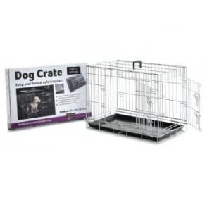Sharples & Grant Dog Crate 2 Door Opening - Medium