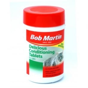 Bob Martin Cat & Kitten Conditioning Tablets 100no Size