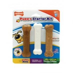 Nylabone Puppy Starter Kit Small Breed
