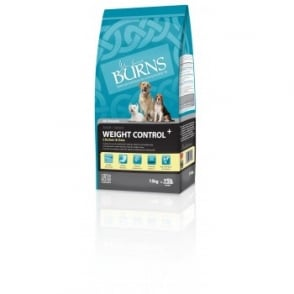 Burns Weight Control Dog Food Chicken & Oats 15kg