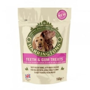 Harringtons Teeth & Gum Dog Treats 160gm pack