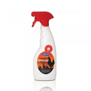 Johnsons Veterinary Poultry Virenza Disinfectant & Cleaner Spray 500ml