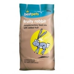 Bestpets Complete Fruity Rabbit Food - 15kg