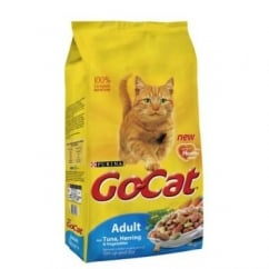 Purina Go Cat Complete Dry Cat Food Tuna,Herring & Veg 4kg
