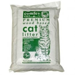 H Eggleston Jnr and Son Ltd Comfey Wood Based Cat Litter 15 Litre