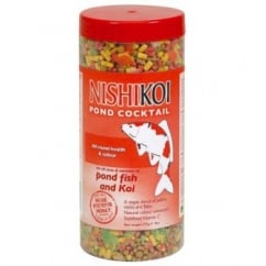 Nishikoi Pond Fish Cocktail Food - 275gms.