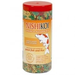 Nishikoi Spring & Autumn Pond Fish Food - 275gms.