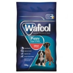 Wafcol Hypoallergenic Complete Puppy Salmon & Potato Dog Food Large/Giant Breed 15kg