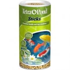 Tetra Pond Floating Fish Foodsticks - 100gm