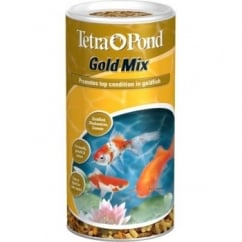 Tetra Pond Gold Mix For Goldfish, Shubunkins,& Comets - 140gm