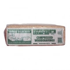 H Eggleston Jnr and Son Ltd Comfey Compressed Pet Woodshavings - Standard