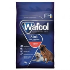 Wafcol Hypoallergenic Adult Dog Food Small/medium Breed Salmon & Potato 2.5kg
