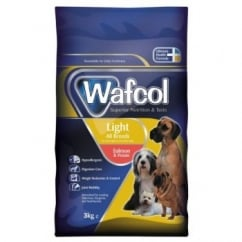Wafcol Hypoallergenic Complete Adult Light Dog Food Diet 3kg