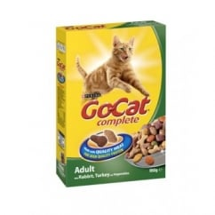 Purina Go Cat Complete Dry Cat Food Rabbit,Turkey & Veg 950gm