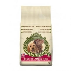 Harringtons Dog Food - Lamb & Rice 2kg