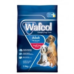 Wafcol Hypoallergenic Adult Dog Food - Fish & Corn 2.5kg