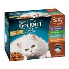 Nestle Purina Gourmet Perle Pouch Country Medley in Jelly