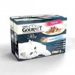 Nestle Purina Gourmet Perle Pouch Seaside Duos 12x85gm