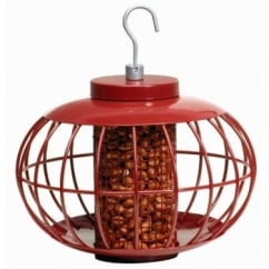 The Nuttery Squirrel & Predator Proof Chinese Lantern Peanut Feeder