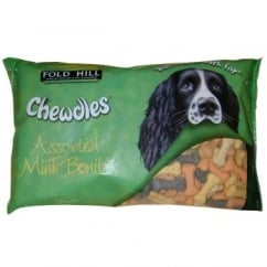 Foldhill Chewdles Assorted Mini Bonibix Dog Biscuits 1.5kg