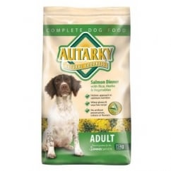 Autarky Adult Complete Dog Food Salmon & Rice 15kg Vat Free