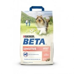 Beta Complete Sensitive Adult Dog Food With Salmon & Rice 2.5kg