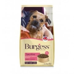 Burgess Sensitive Adult Dog Food With Scottish Salmon & Rice 12.5kg