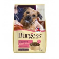 Burgess Sensitive Adult Dog Food With Scottish Salmon & Rice 2kg