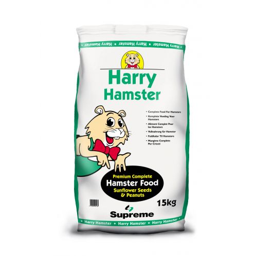 Supreme Complete Harry Hamster Food 15kg