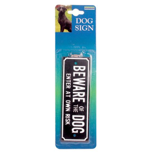 Dog Signs › Beware Sign