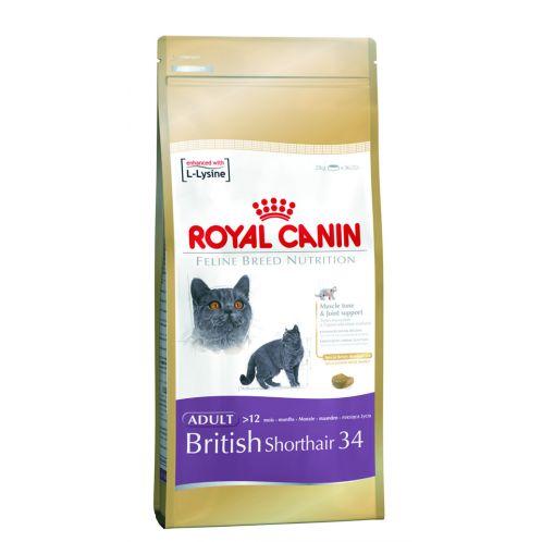 Royal Canin British Shorthair Food 34 2kg