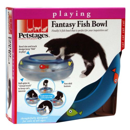 Petstages Fantasy Fish Bowl Activity Toy For Cats Toys