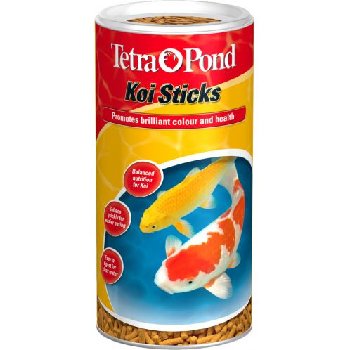Buy tetra pond koi fish food sticks 140gm for Koi fish food for sale