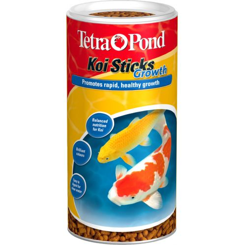 Buy tetra pond koi sticks growth 270gm for Koi pond food