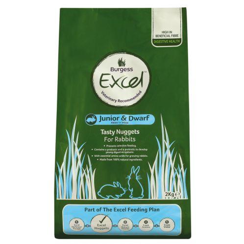 Burgess Excel Rabbit Junior & Dwarf Complete Food - 2kg
