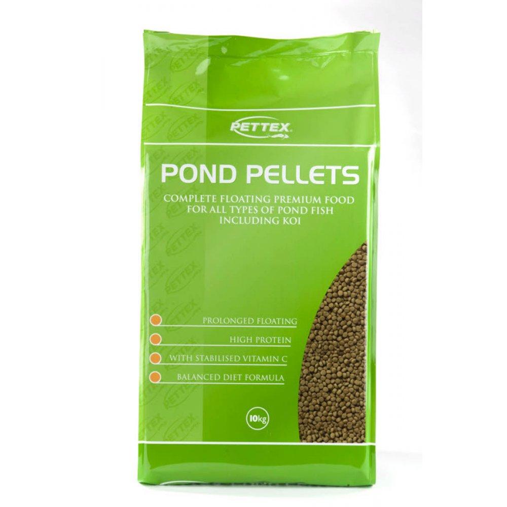 Buy pettex fish pond pellets 4mm 10kg for Buy pond fish