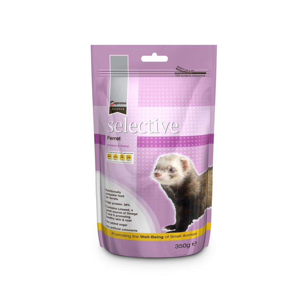 Supreme Science Selective Ferret Food 350gm