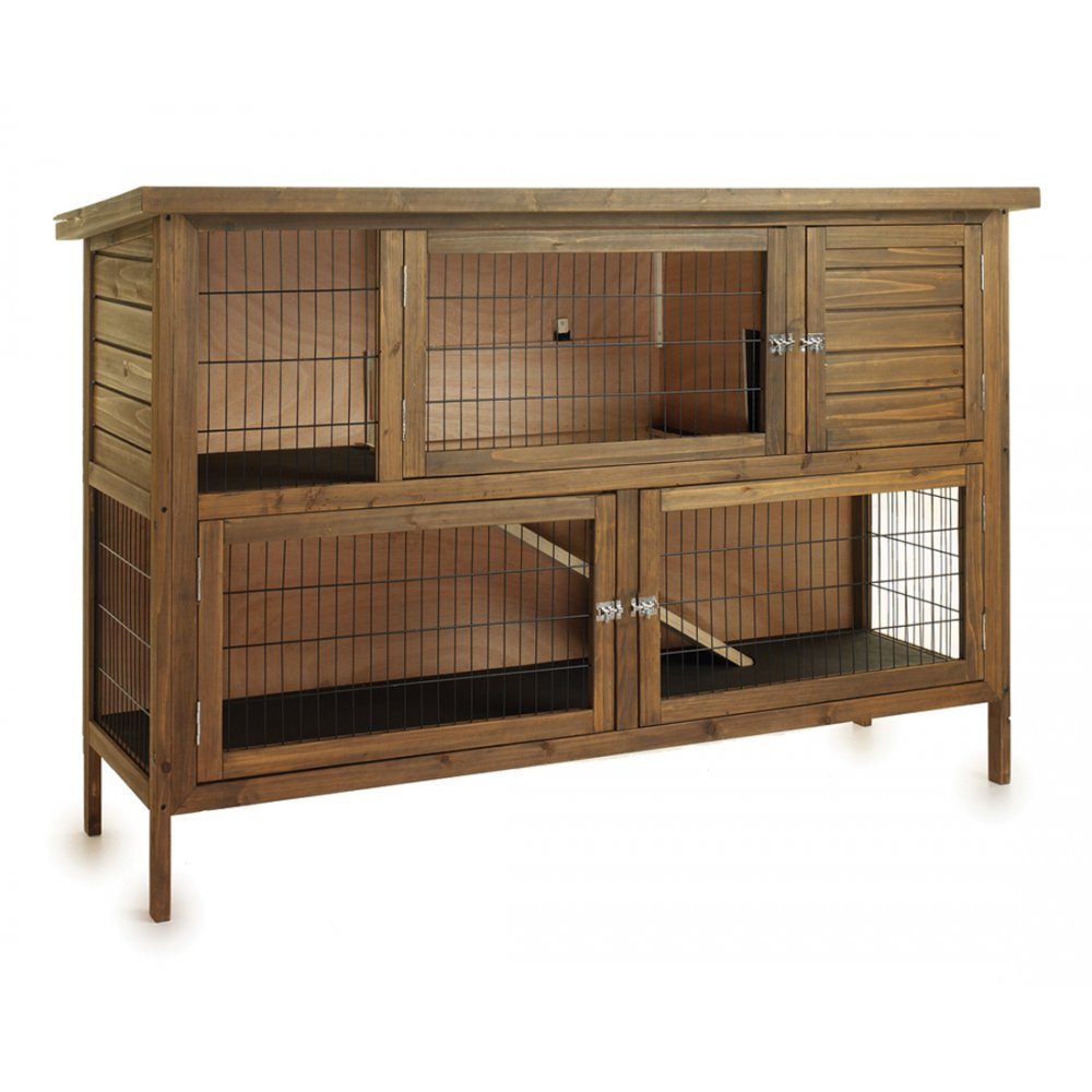 sharples grant hutch down e large rabbit hutch feedem